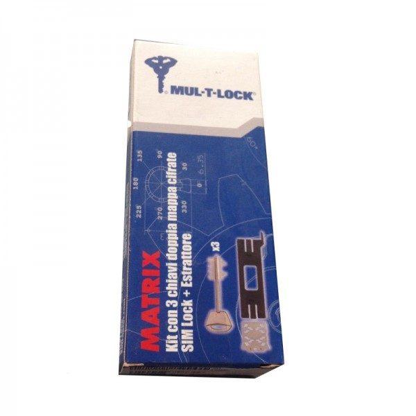 Συνδυασμός κλειδαριάς Mul-t-lock matrix